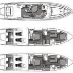 Sunseeker  Manhatten 56  2 | Jacht makelaar | Shipcar Yachts
