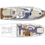Cranchi Mediterranee 47  14 | Jacht makelaar | Shipcar Yachts