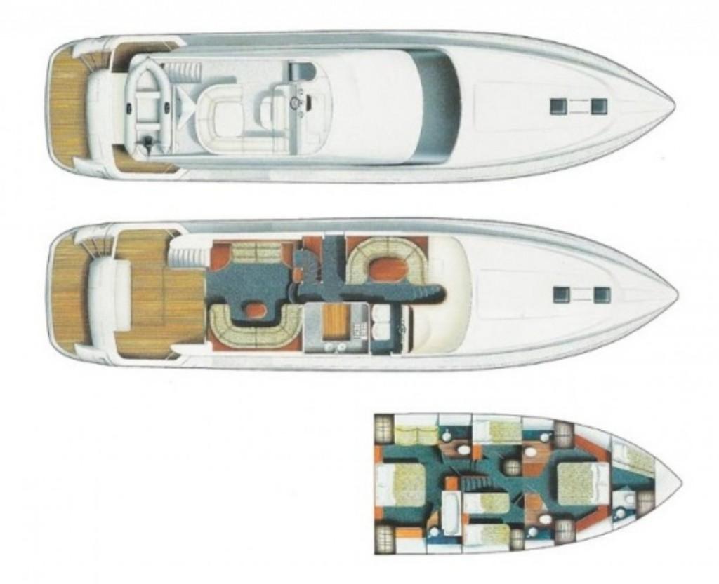 Princess 20 M | Jacht makelaar | Shipcar Yachts