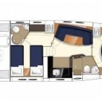 Princess V 42 HT  NW MODEL 8 | Jacht makelaar | Shipcar Yachts