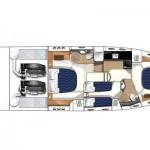 Princess 54 Fly 9 | Jacht makelaar | Shipcar Yachts