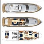 Princess P 67 10 | Jacht makelaar | Shipcar Yachts