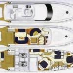 Princess 65 Fly 1 | Jacht makelaar | Shipcar Yachts