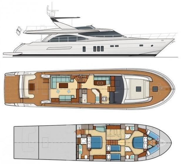 Guy Couach  2100 FLY | Jacht makelaar | Shipcar Yachts