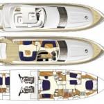 Princess 67 49 | Jacht makelaar | Shipcar Yachts