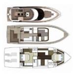 Sealine F 46 53 | Jacht makelaar | Shipcar Yachts