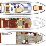 Sealine T 60 24 | Jacht makelaar | Shipcar Yachts