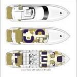 Princess 56 24 | Jacht makelaar | Shipcar Yachts